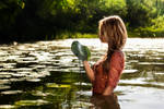 In the water - Retouch