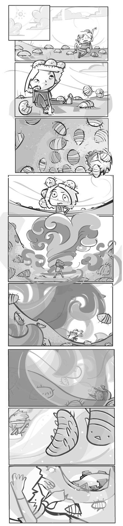 we are friend : mini comic 2 by RayArray