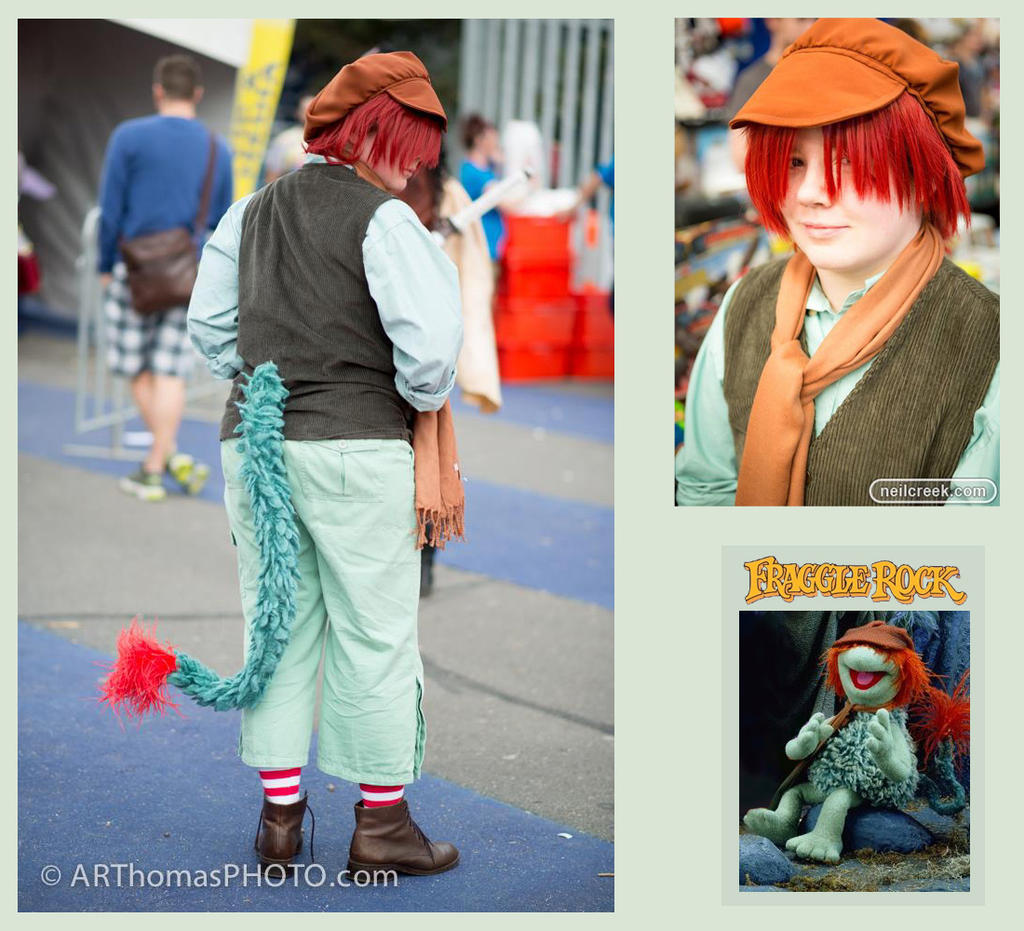 fraggle rock boober fraggle cosplay by iscahrambles - Fraggle Rock Halloween Costumes