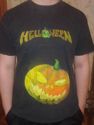 T-shirt Helloween by Lafizzy