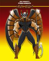 PTERO-KNIGHTS - Hawk Knight by EricLinquist