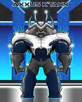 Villain: AXXUS K'TAHN by EricLinquist