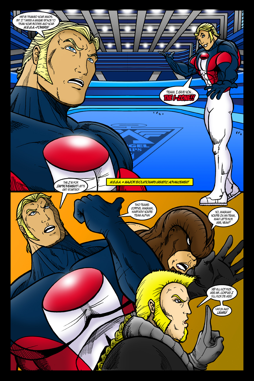 ANGEL Corps Webcomic - Page 1 by EricLinquist