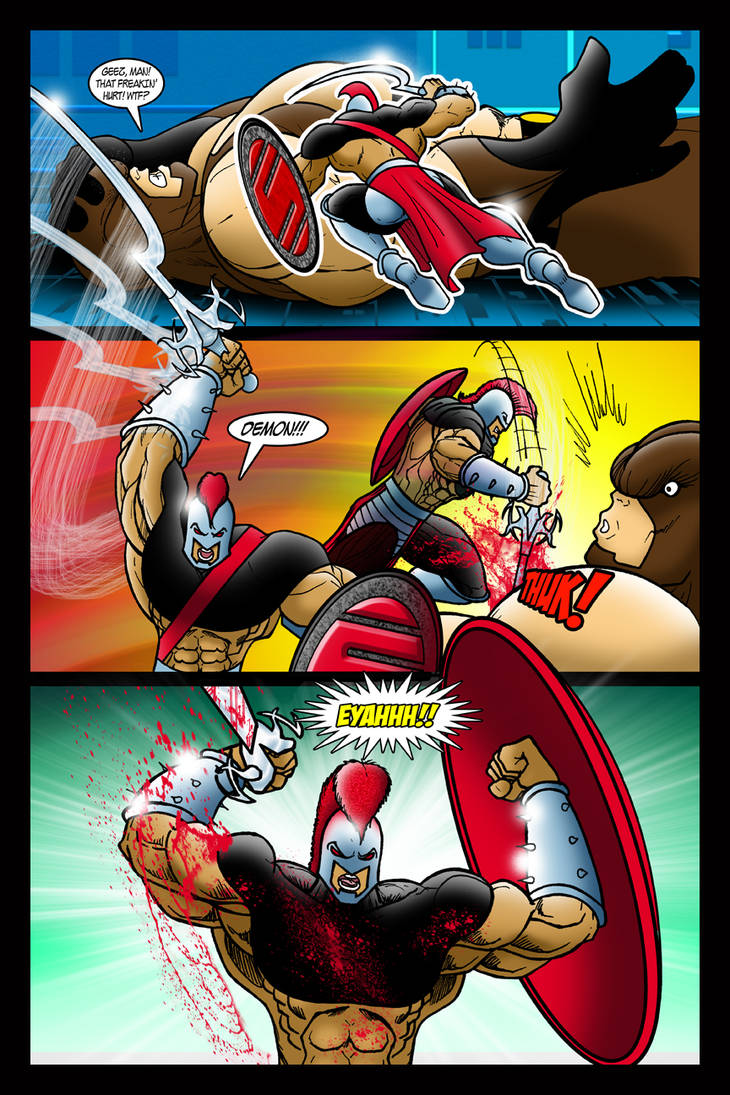 Webcomic Page 17 by EricLinquist