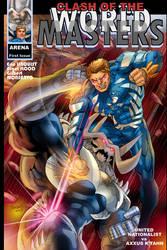 My Supervillain Axxus K'Tahn by EricLinquist