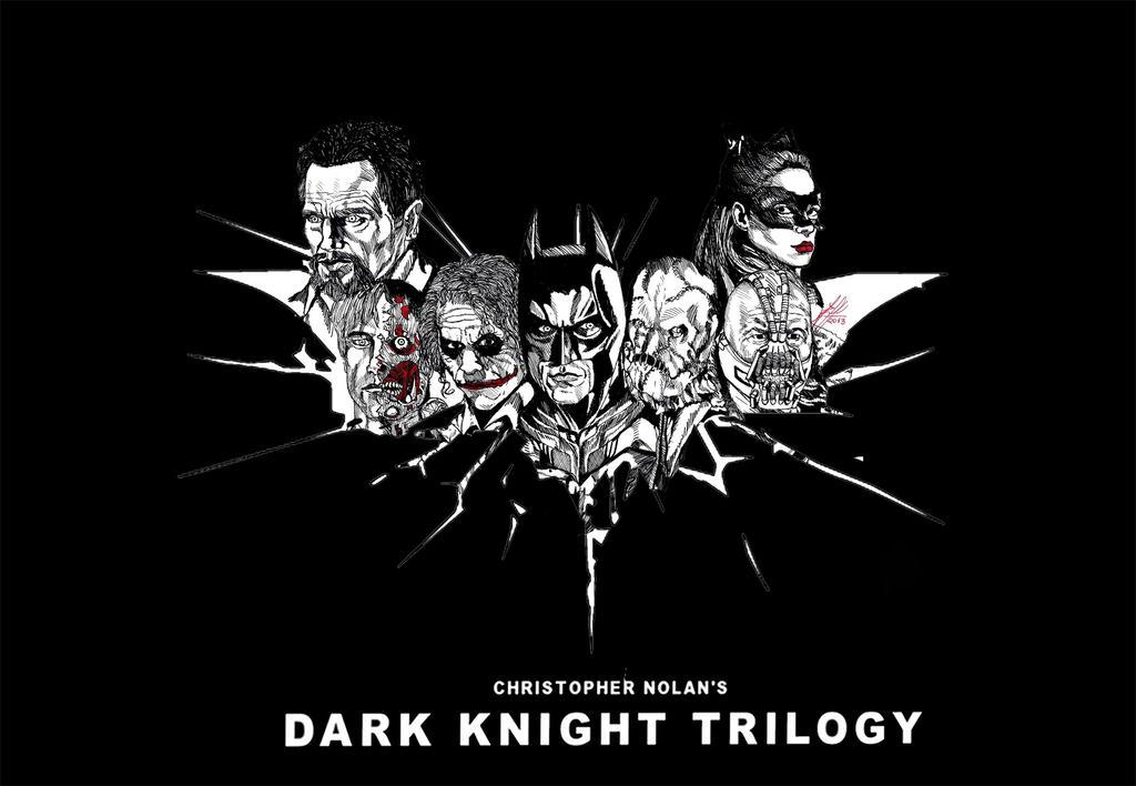 Dark-knight-rises-batman-logo Black by RafaelSkywalker on ...