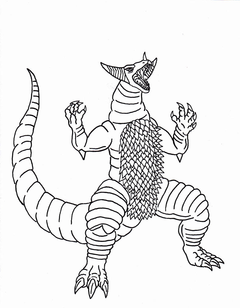 ultraman coloring pages - photo#42