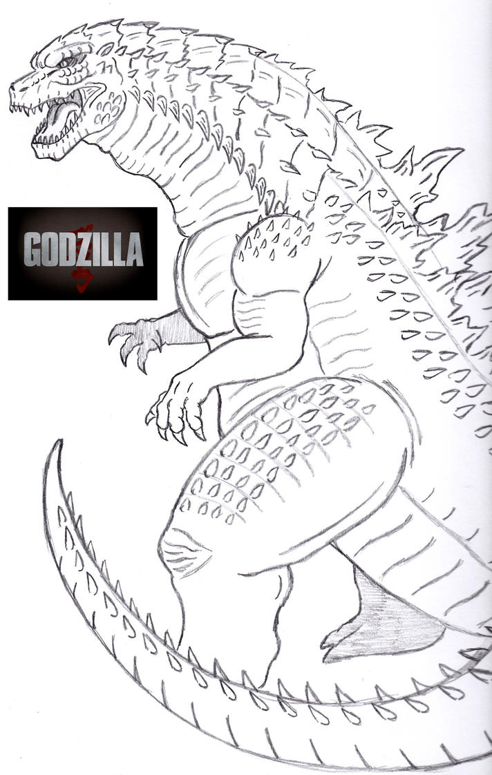 godzilla 2014 by almaster09 d6h4146 jpg on coloring pages for new year ...