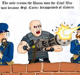 TimeSplitters : Civil War
