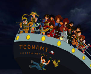 Remember the '90s? - Toonami by CptFarfegnugen