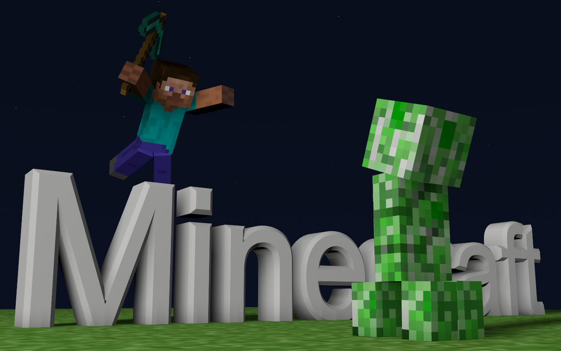 Amazing Wallpaper Minecraft Fox - slow_motion_minecraft_wallpaper_by_3shadowfox3-d5amsio  Picture_1002953.png