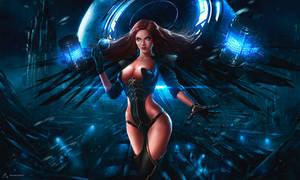 Cyber Queen by YENIN