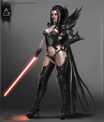 She-Lord Sith by YENIN