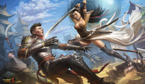 My work for Shadow fight 3 art contest by YENIN