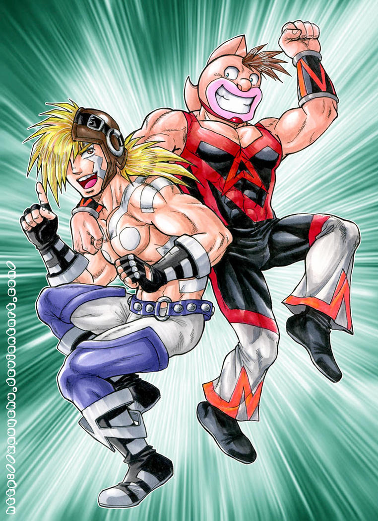 The New Muscle Brothers by xauychu on DeviantArt