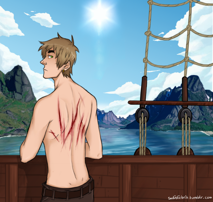 APH - Whipped at sea by SarcasticBrit