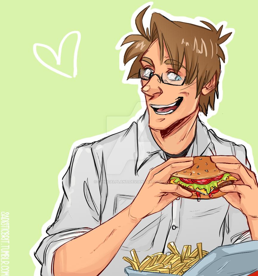APH - Burger by SarcasticBrit