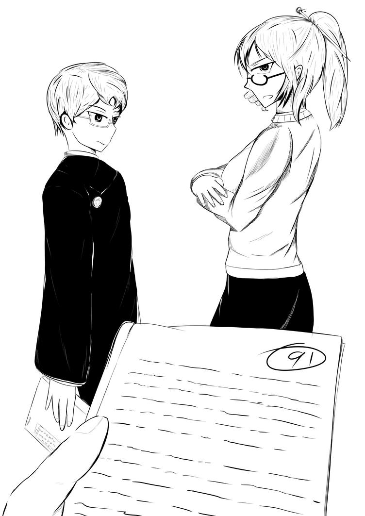 [RWBY Mama] Glynda [Low Grades] by AikiYun