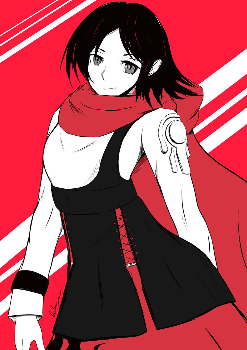 [RWBY] Ruby Rose-SLAYER by AikiYun