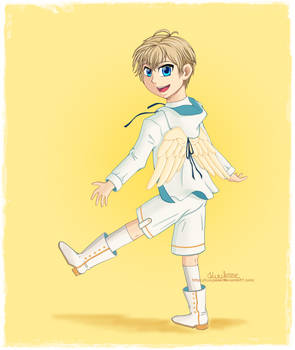 Luke - Winged hoodie