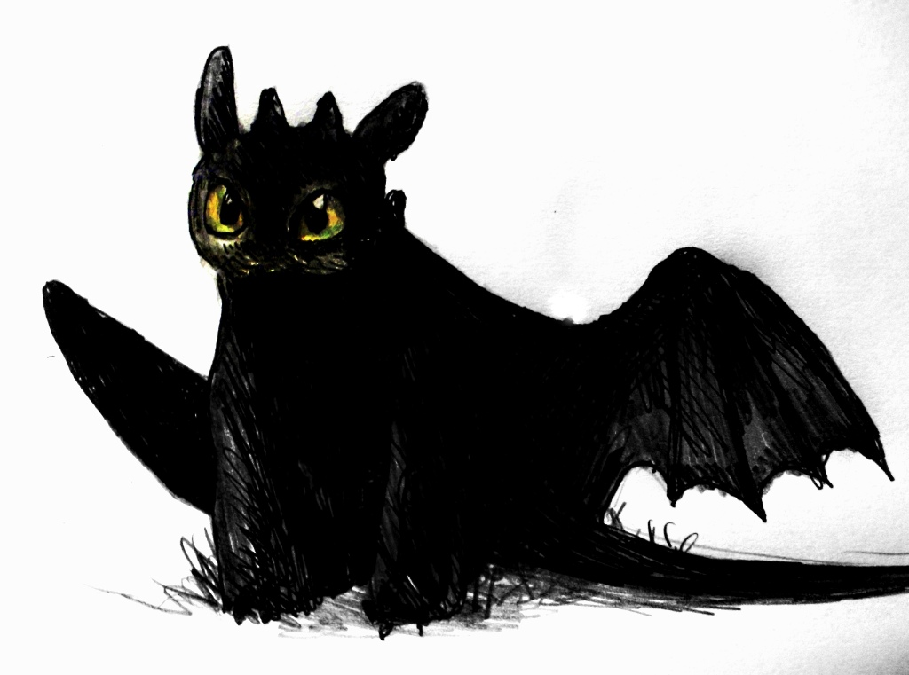 Toothless by elicenia