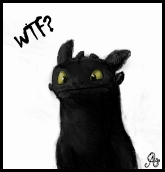 Toothless WTF by elicenia