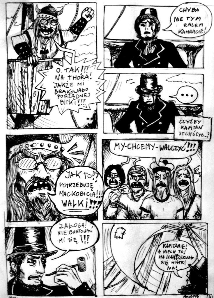 Moby Dick/page 4 by elicenia