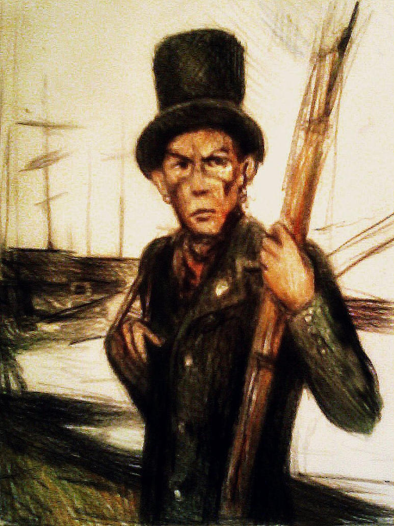 Queequeg in Moby Dick