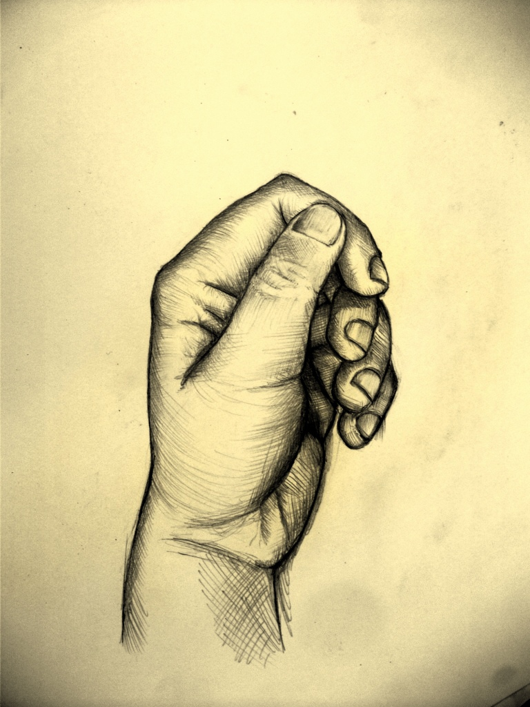 My hand/anatomy sketch II by bejdak on DeviantArt