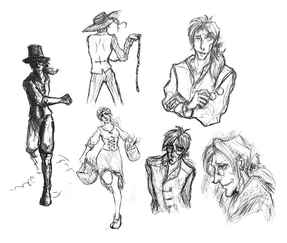 Sketches by elicenia