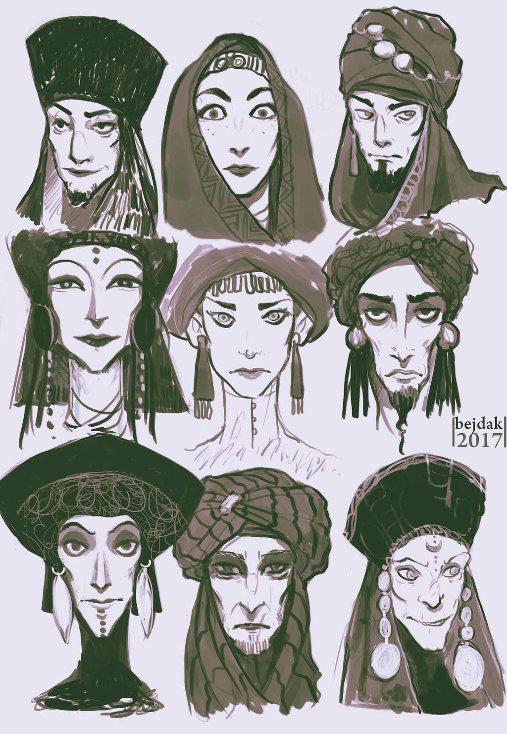 Face Practices by beidak