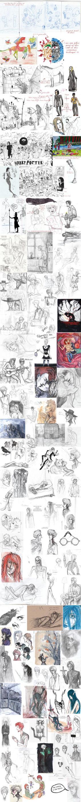 Cringedump! [old sketchbooks review] by bejdak