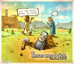 Jesus Was A Dick.
