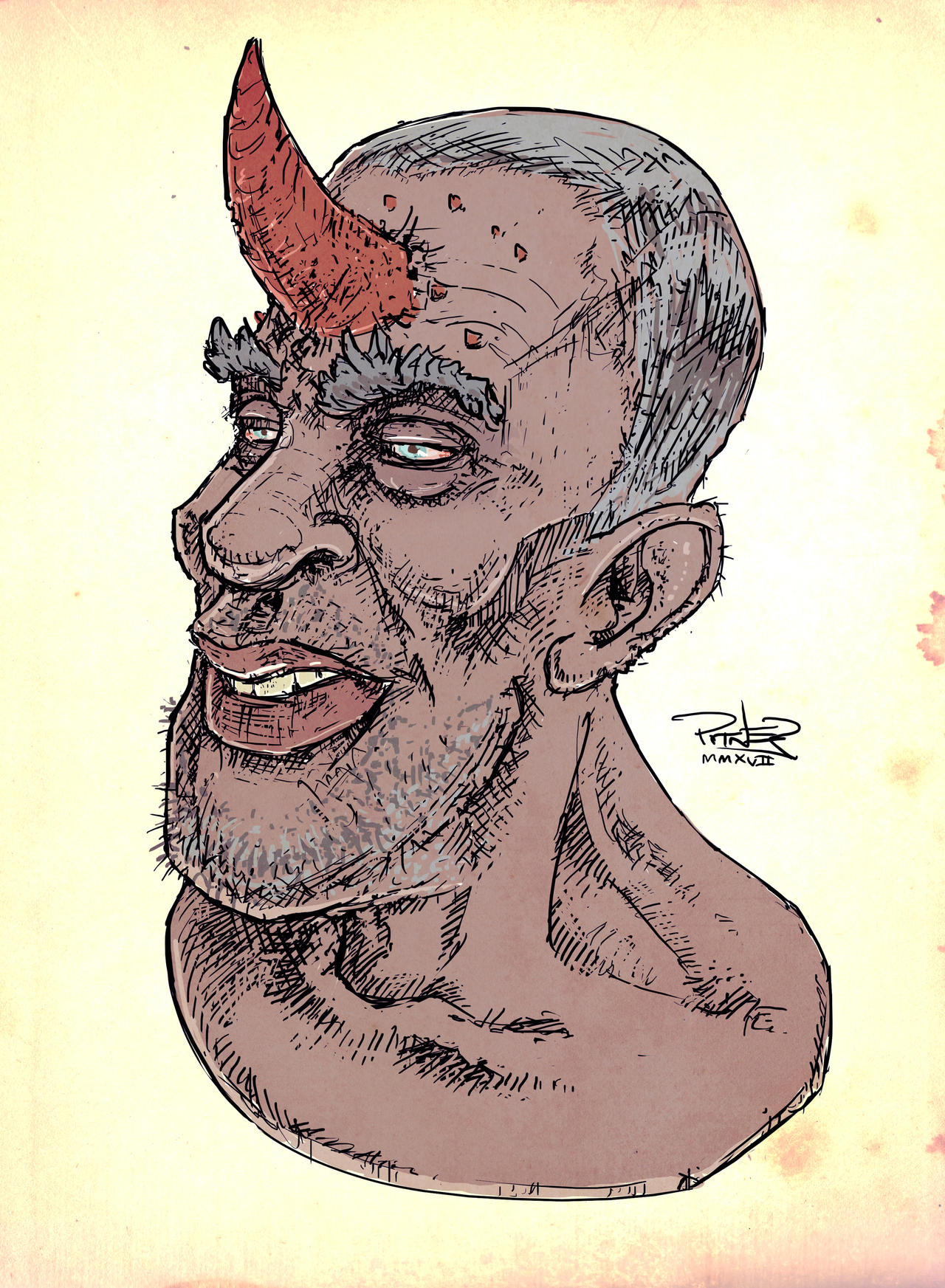 Horny Dude by pitnerd