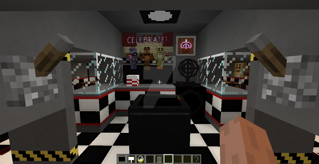 Minecraft Map Freddy Fazbears Pizza — BCMA