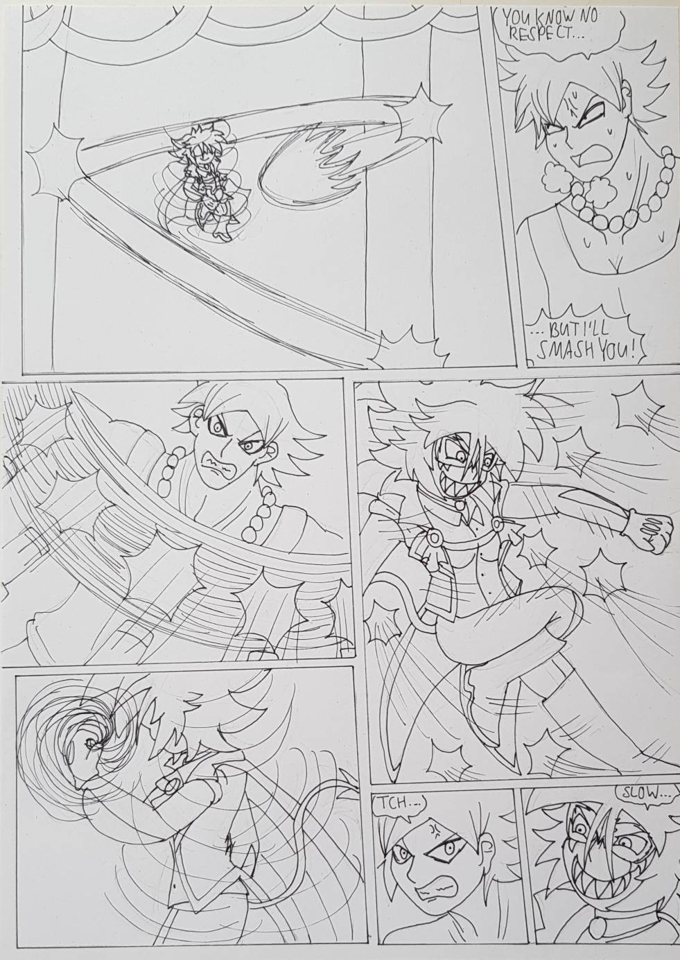 WtW Ch. 8 Kagami vs Tokkan Page 4