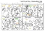 Almost Kissing Meme HammondxHyouzou