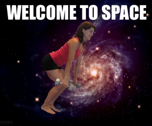 Welcome to Space by chrislanotte