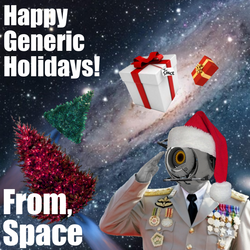 Merry Spacemas by chrislanotte