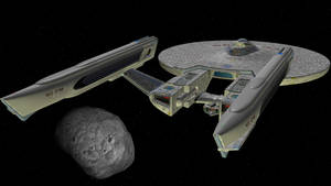 USS Phobos at Phobos