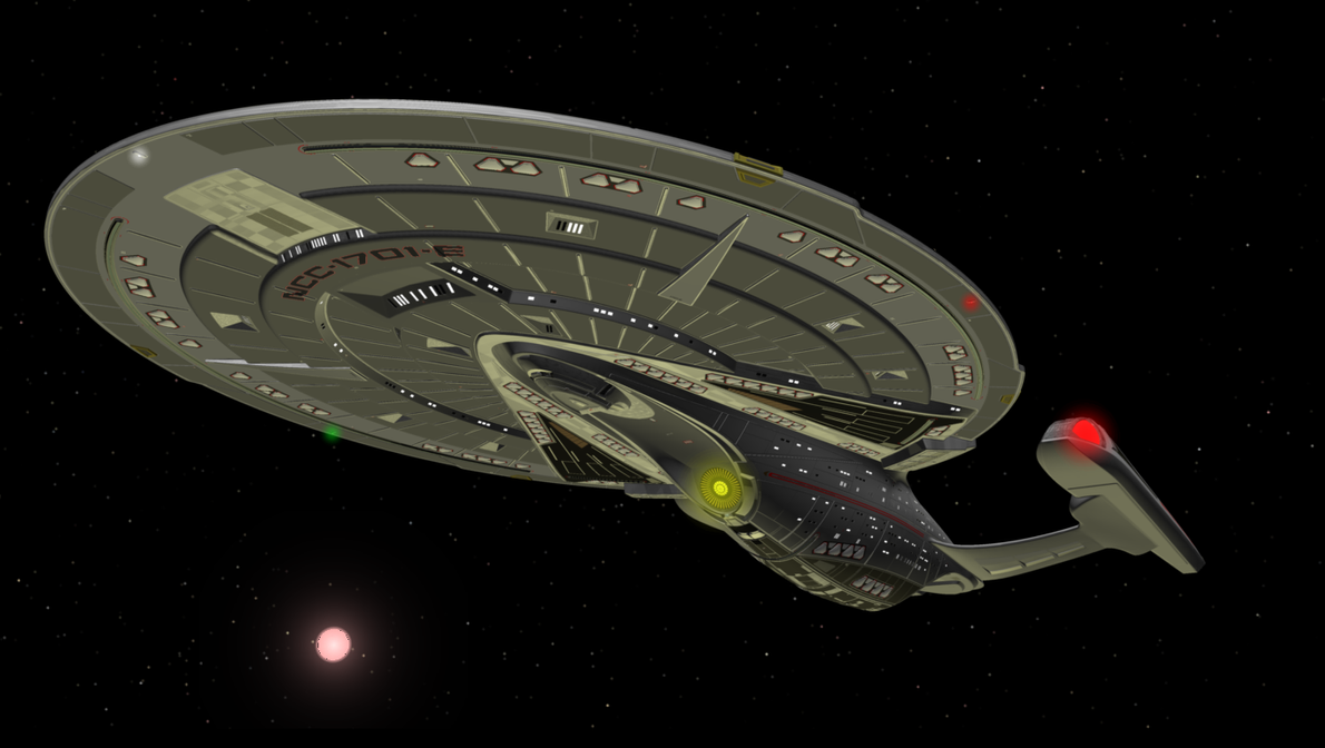 USS Enterprise NCC-1701-E by enterprisedavid