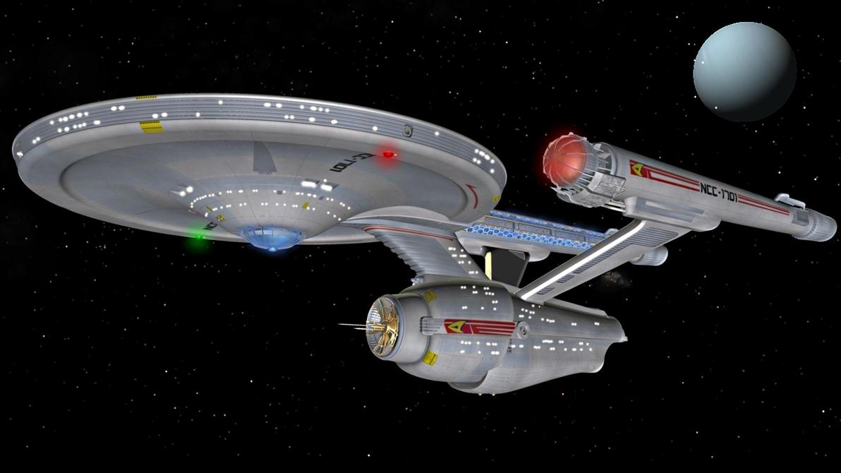 Voyage by enterprisedavid
