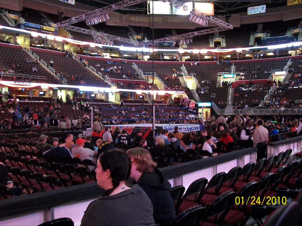 wwe at the quicken loans arena by enterprisedavid . wwe at the quicken loans arena by enterprisedavid on deviantart