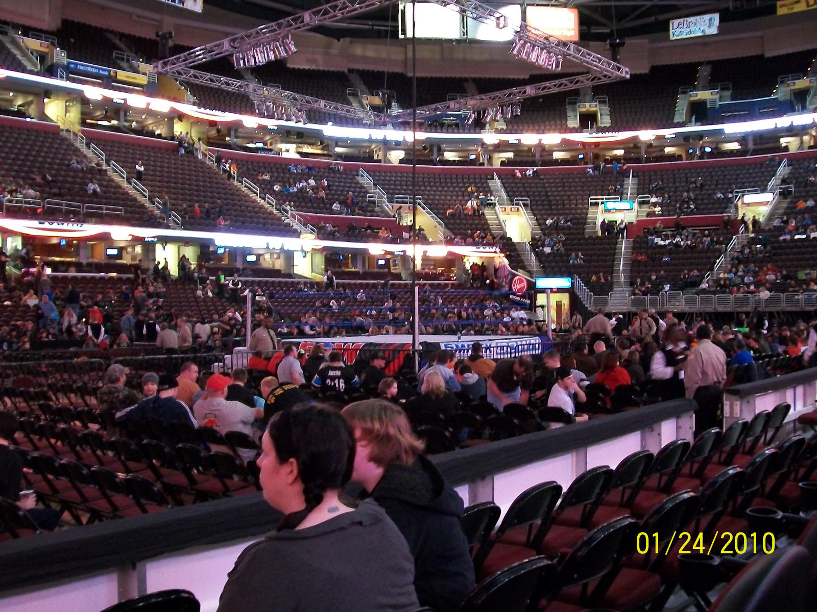 Seating charts quicken loans arena official website - Quicken Loans Arena Seating Wwe