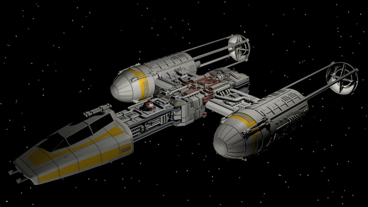 Y Wing By Enterprisedavid