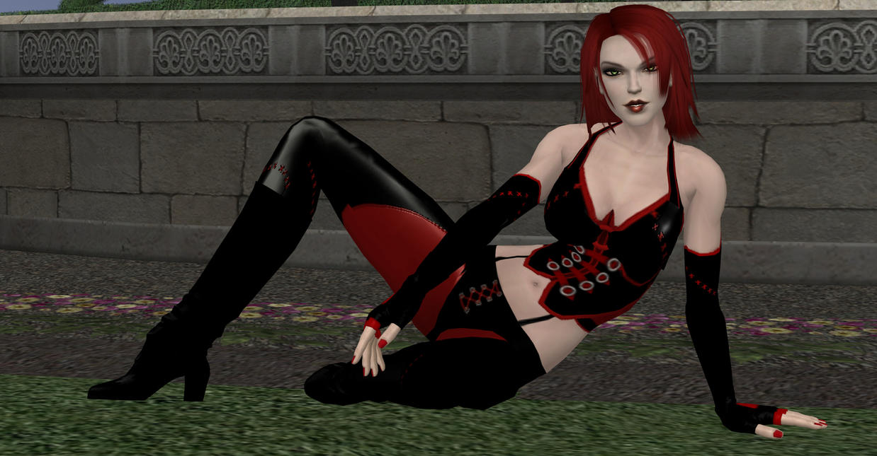 Sexy Bloodrayne by enterprisedavid