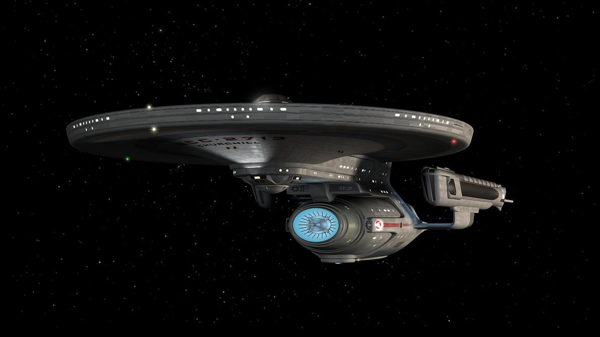 USS Churchill by enterprisedavid