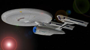 USS Enterprise Refit STXI