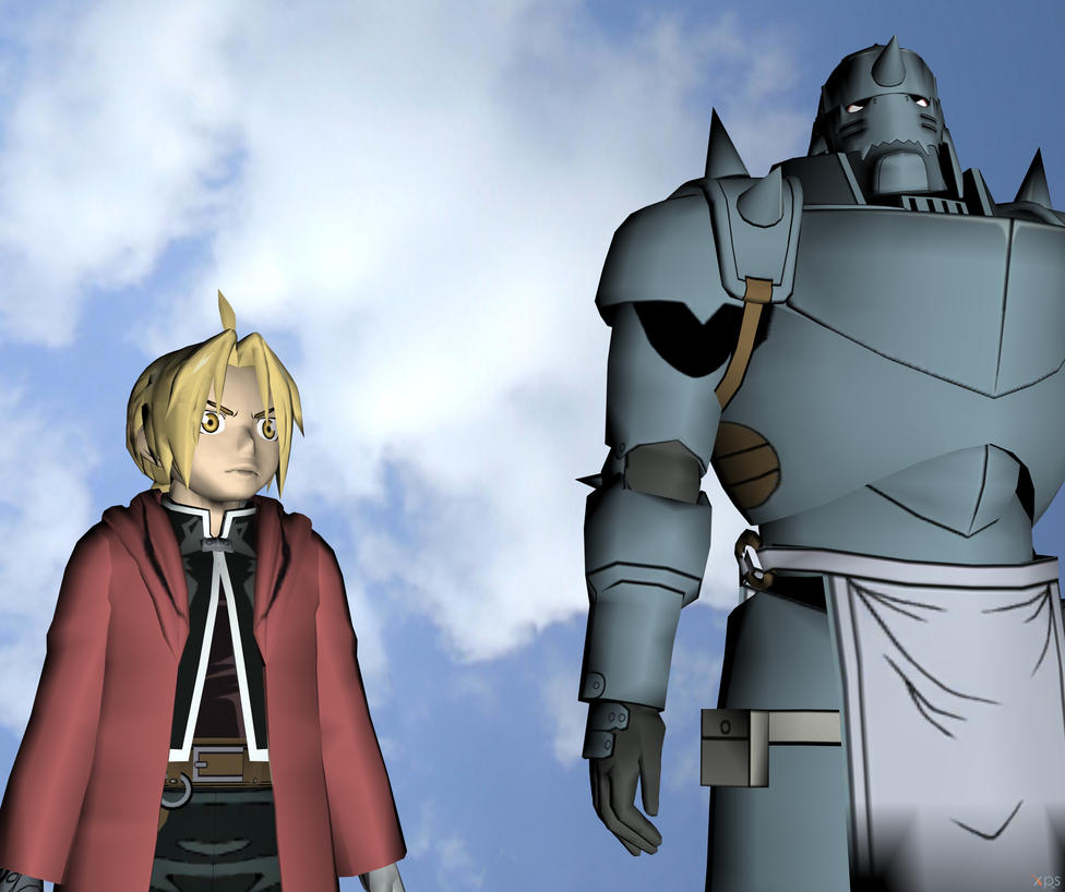 The Elric Brothers by enterprisedavid