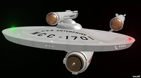 USS Enterprise XNALara by enterprisedavid